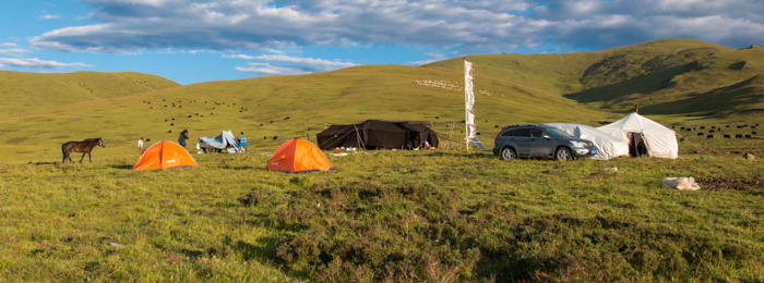 Tibet Nomad Adventure | Camping with Tibetan Nomads